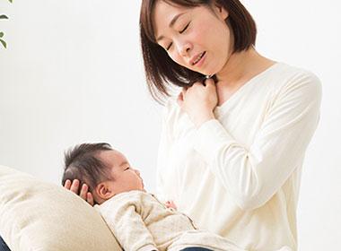 妊婦、産後治療